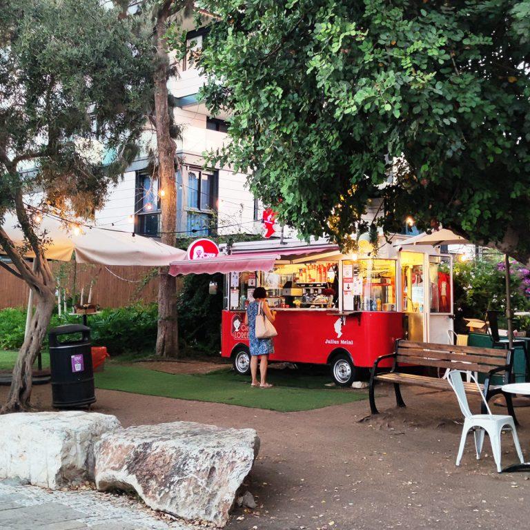 Food Truck, Louis Promenade, Haifa